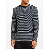 Selected Homme Ripple Jersey Top, Navy