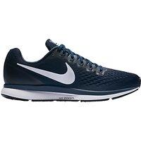 Nike Air Zoom Pegasus 34 Men's Running Shoes, Blue/White