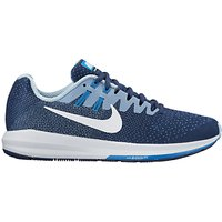 Nike Air Zoom Structured 20 Womens Running Shoes, Binary Blue/Cirrus Blue