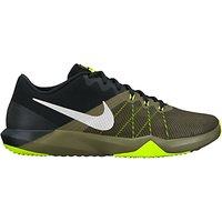 Nike Retaliation TR Cross Trainers, Silver/Green