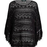 Lauren Ralph Lauren Crochet Jumper, Polo Black