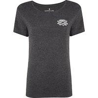 Manuka Life Shanti T-Shirt, Black/Grey/White