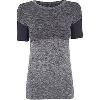 Manuka Flow Yoga T-Shirt, Black/Grey