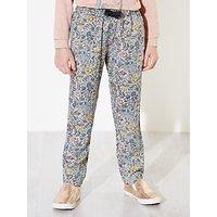 Wheat Girls Miranda Floral Printed Trousers, Multi