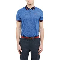 Ted Baker Golf Collection Moulie Polo Shirt, Bright Blue