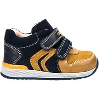 Geox Childrens Rishon Shoes, Navy/Biscuit