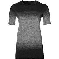 Asics Fuzex Seamless Short Sleeve Running T-Shirt, Black