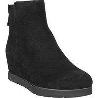 Unisa Creso Wedge Heeled Ankle Boots, Black