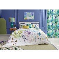 bluebellgray Botanical Print Cotton Duvet Cover and Pillowcase Set