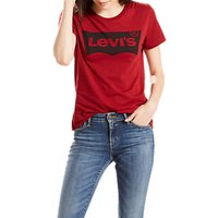 Levis The Perfect Logo T-Shirt, Red Dahlia