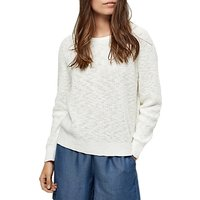 Selected Femme Mace Jumper, Snow White