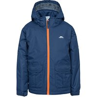 Trespass Boys' Fleminton Hooded Jacket, Navy