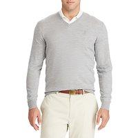 Polo Ralph Lauren Long Sleeve V-Neck Wool Knitted Jumper