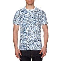 Original Penguin Splatter Print T-Shirt, Bright White