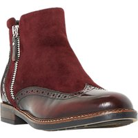 Dune Pandallla Block Heeled Ankle Chelsea Boots