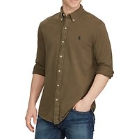 Polo Ralph Lauren Long Sleeve Shirt, Defender Green