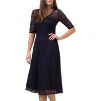 Sugarhill Boutique Imelda Lace Dress, Navy