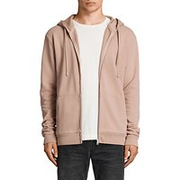 AllSaints Exole Distressed Cotton Hoodie