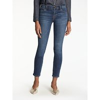 J Brand 811 Mid Rise Cropped Skinny Jeans, Mesmeric
