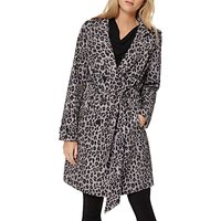Damsel in a dress Roaming Leopard Trench Coat, Multi