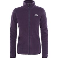 The North Face 100 Glacier Full Zip Womens Fleece, Purple