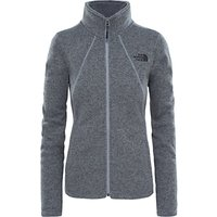 The North Face Crescent Full Zip Womens Fleece Jacket, Grey