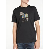PS by Paul Smith Large Zebra Print Crew T-Shirt