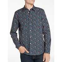 PS by Paul Smith Floral Long Sleeve Shirt, Navy