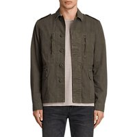 AllSaints Taylor Military Jacket, Khaki Green