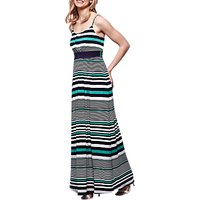 Yumi Horizontal Striped Maxi Dress, Multi