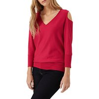 Damsel in a dress Tie Back Knit Jumper, Bright Pink