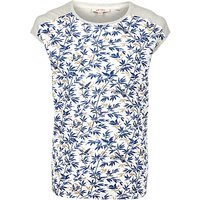 Fat Face Elena Songbirds T-Shirt, Ivory