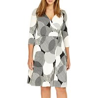 Studio 8 Kimara V Neck Shift Dress, Monochrome