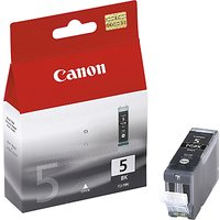 Canon PIXMA PGI-5BK Inkjet Cartridge, Black