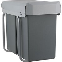 Wesco Pull-out Recycling Bin, 2 x 15L