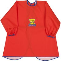 BabyBjrn Eat and Play Baby Smock, Red