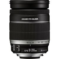 Canon EF-S 18-200mm f/3.5-5.6 IS Telephoto Lens