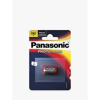 Panasonic CR2 3V Photo Lithium Battery