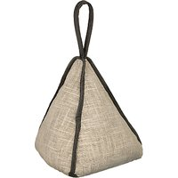 Dora Designs Linen Pyramid Doorstop