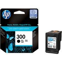 HP 300 Inkjet Cartridge, Black, CC640EE