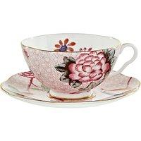 Wedgwood Cuckoo Tea Cup And Saucer, Pink