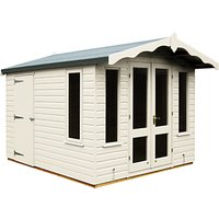 Crane 3 x 2.5m Storage Chalet, Door on Left, FSC-certified (Scandinavian Redwood)