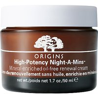 Origins Night-A-Mins Crease Release Oil-Free Moisturiser, 50ml