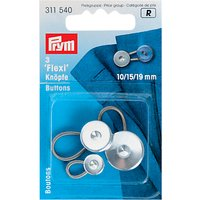 Prym Flexi Buttons, Pack of 3, Various Sizes