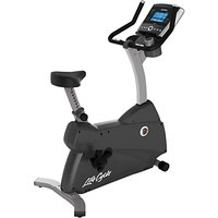 Life Fitness Lifecycle C3 Upright Exercise Bike with Go Console