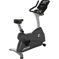 Life Fitness Lifecycle C3 Upright Exercise Bike, Track Console