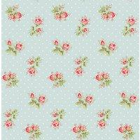 Cath Kidston For Harvey Maria Rose Sprig Vinyl Floor Tiles, 1.115m Pack
