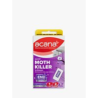 Acana Sachet Moth Killer and Drawer Freshener, Pack of 24