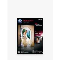 HP CR672A Premium Plus Glossy A4 Photo Paper, 20 Sheets