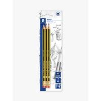Staedtler Noris HB Pencils, Pack of 3